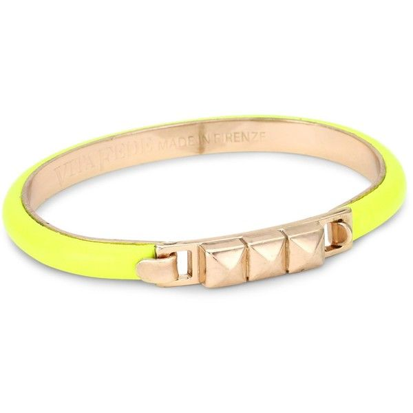 Vita Fede Hex Original Neon Yellow Bracelet