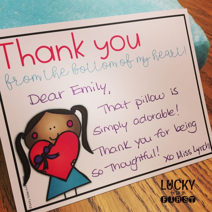 Need a quick thank you note for your students! Grab this FREEBIE