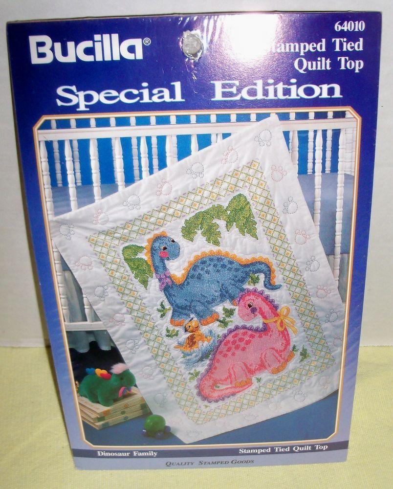 Bucilla DINO BABY Quilt Blocks