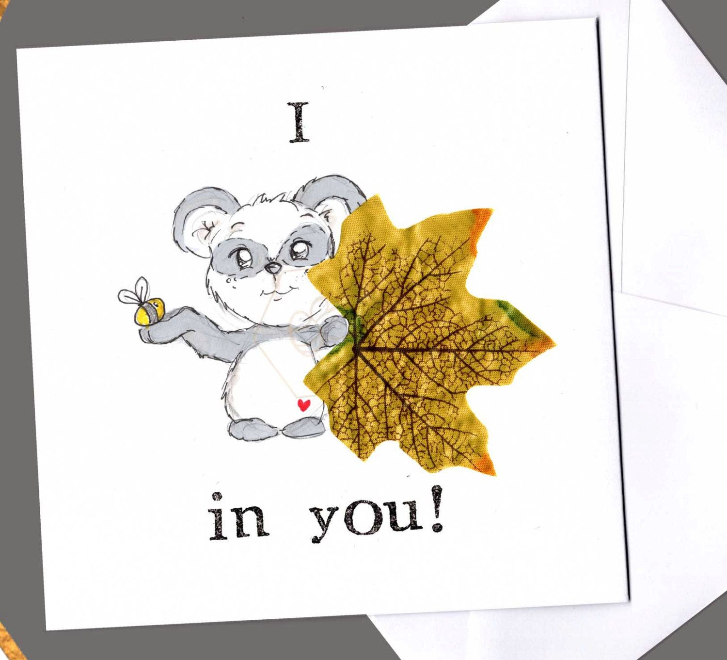 Good Luck Quotes For Board Exams: I Bee Leaf In You Card, I Believe In You, Good Luck, Pun