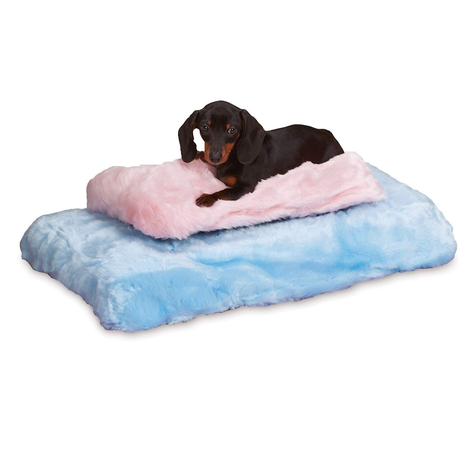 Slumber Pet Cloud Cushion Blue Check Out This Great