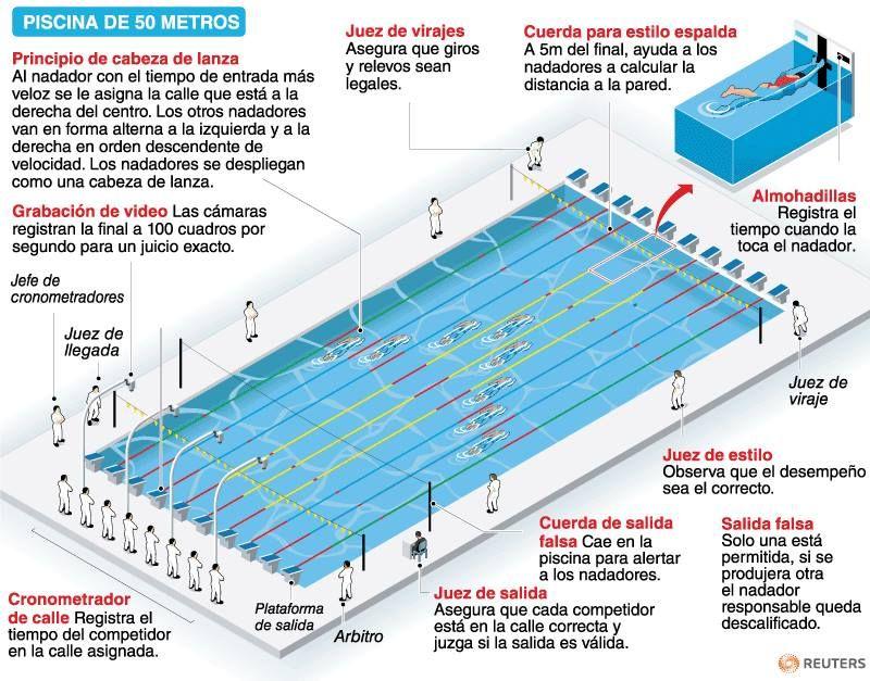 Piscina olimpica medidas google search centro acu tico for Piscina de natacion
