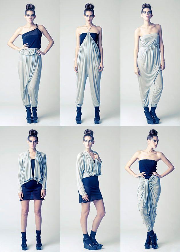 SIX ways to wear this piece... | S t y l i s t a | Pinterest ...