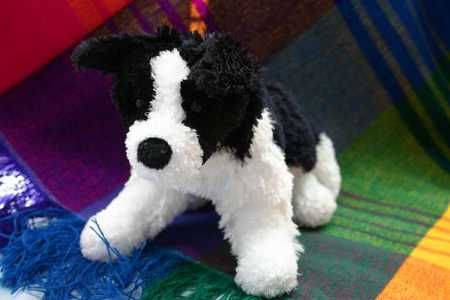 Border Collie Dog Afghan Crochet Pattern Graph Chellacrochet