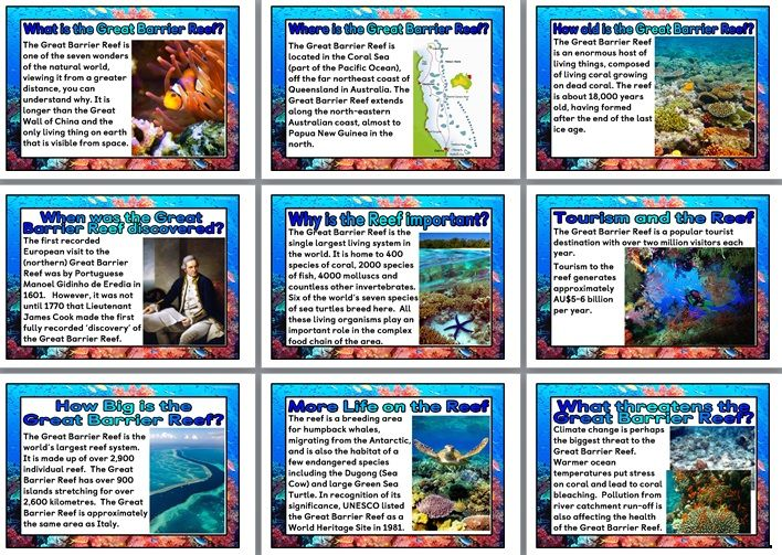 Science Teaching Resource Great Barrier Reef Printable Posters For Classroom Display Great Barrier Reef Science Teaching Resources Classroom Displays
