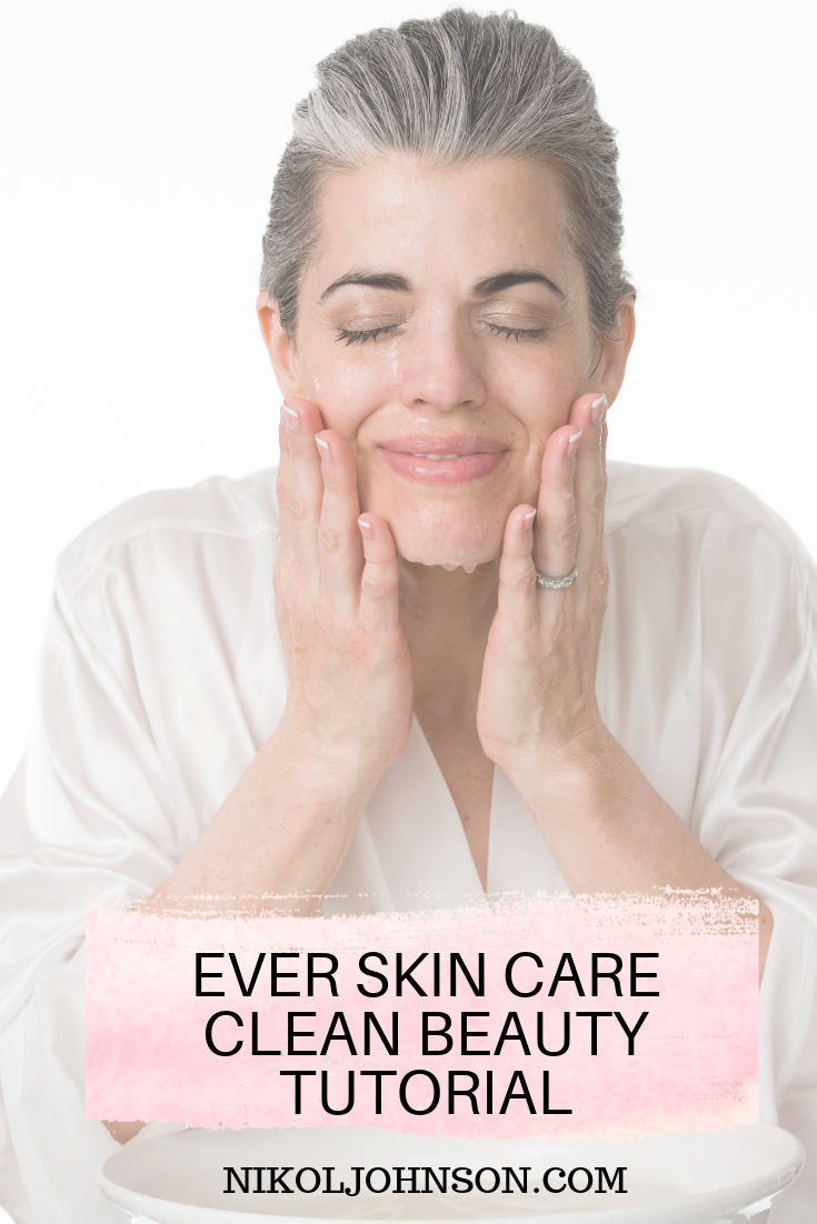 EVER Skin Care. I am lucky enough to receive some beauty