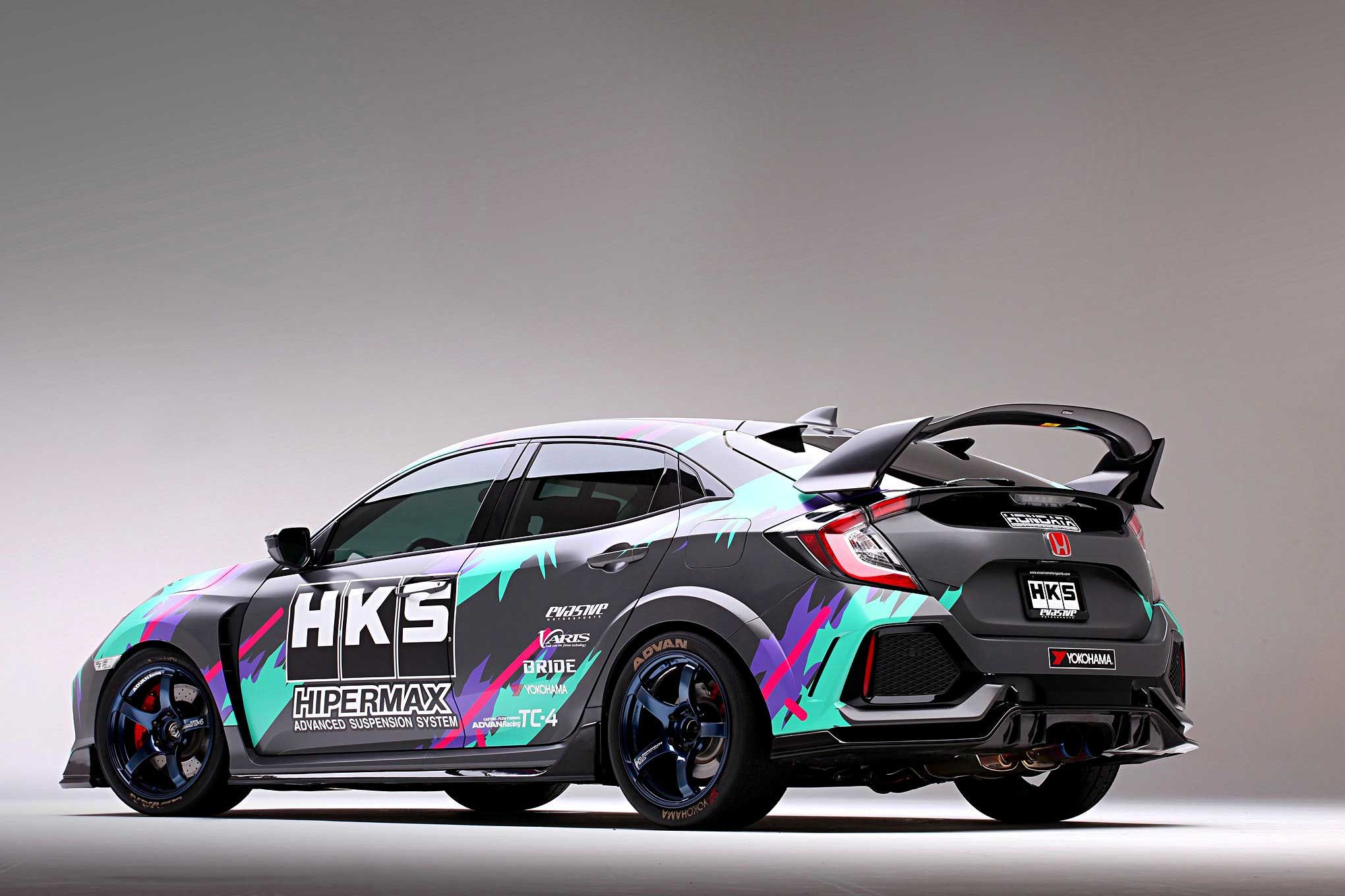 Already A Capaple Platform From The Factory The 2018 Honda Civic Type R Was The Ideal New Project And Development Car For Honda Civic Type R Honda Civic Honda