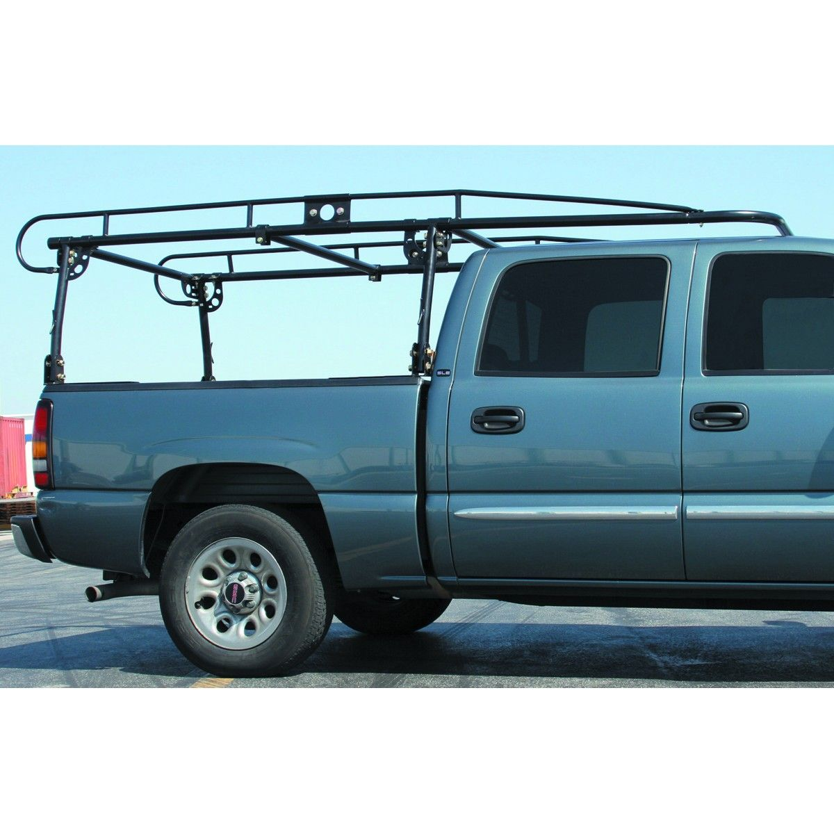 What are some types of contractor truck racks?