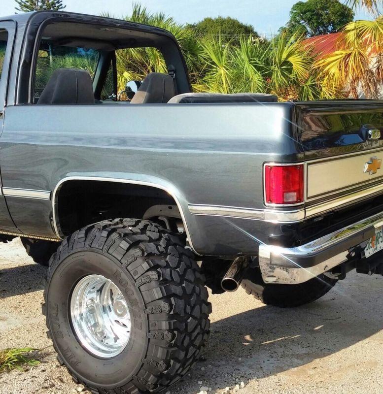 1987 Chevrolet Blazer K5 Chevy Trucks Trucks Chevy