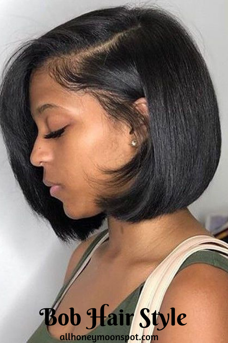 5 Best Black Bob Hairstyles Best Ideas About Black Bob Hairstyles Natural Hair Styles Bob Hairstyles Wig Hairstyles