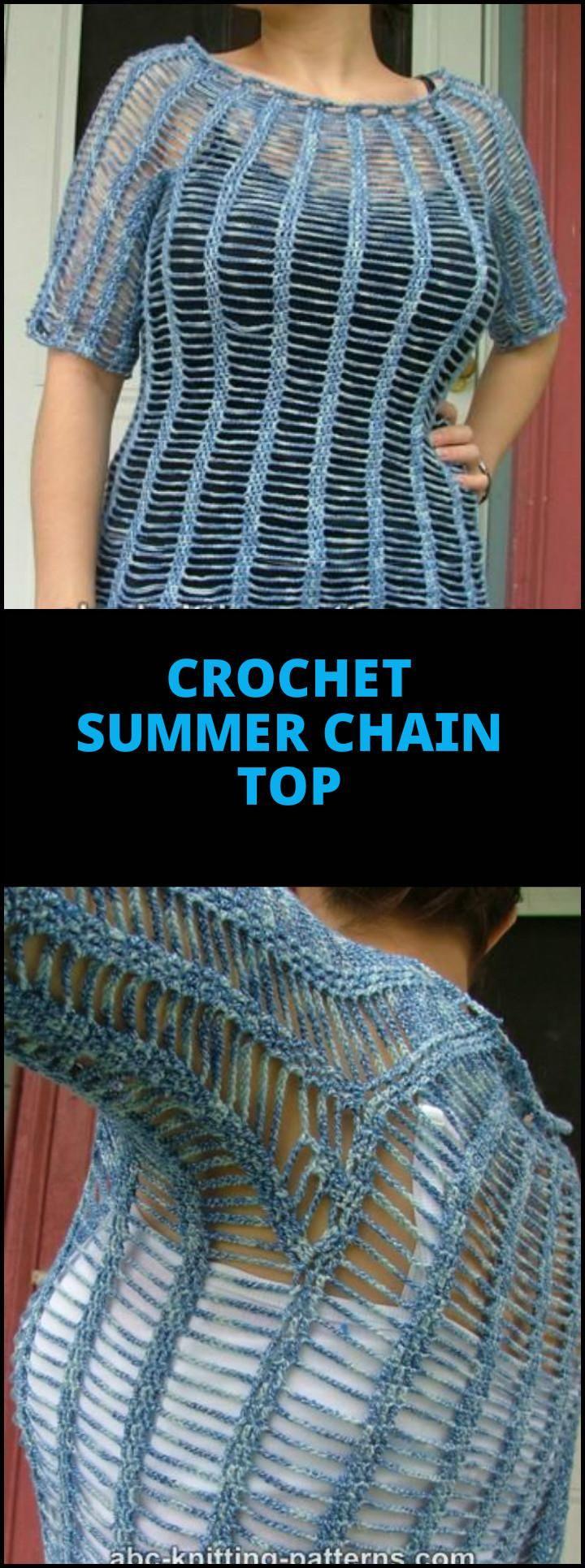 50+ Quick & Easy Crochet Summer Tops - Free Patterns | Pinterest ...