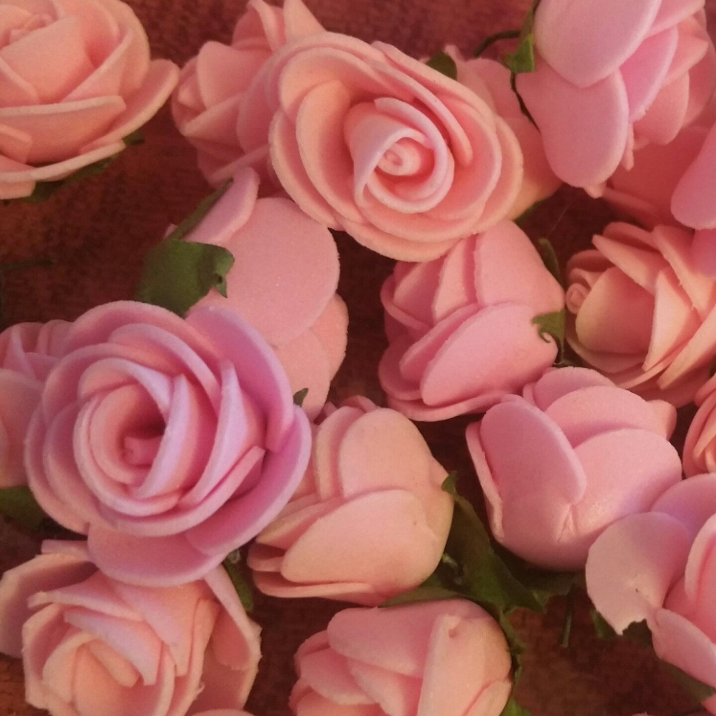 Beautiful accent roses I used for my koufeta (jordan almonds) favors ...