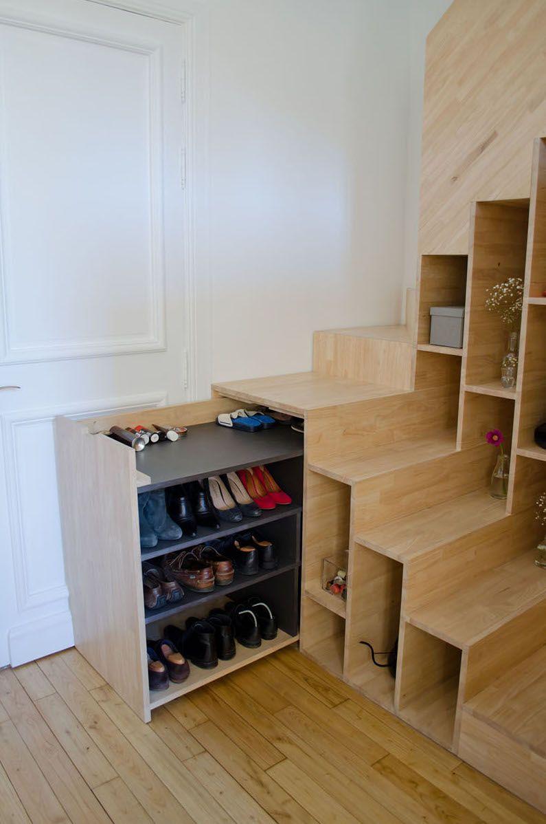 Photo of Schuhregal Design alternativ zum Schuhschrank, wenn der Platz fehlt