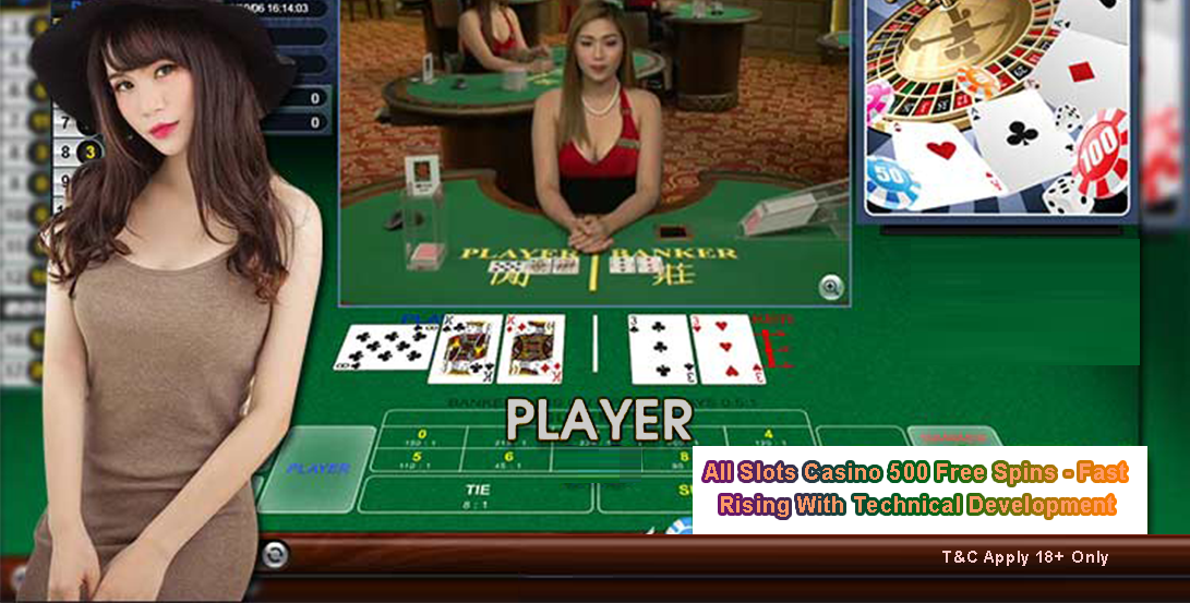 All Slots Casino 500 Free Spins