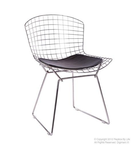 Wire Chrome Dining Chair Inspired By Harry Bertoia 99 00 Bertoia Side Chair Side Chairs Dining Chairs