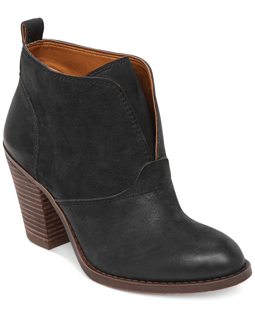 Leather · Lucky Brand Women's Ehllen Booties ...