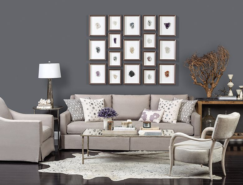 Elemental Earth  Lily Skirted Sofa Httpwwwhighfashionhome Gorgeous Gray Living Room Designs 2018