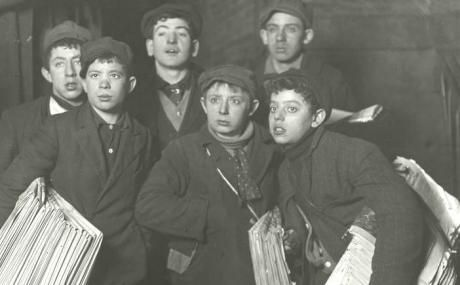 29a69fca The New York newsboys' strike of 1899 | History/ Antiques | Newsies ...