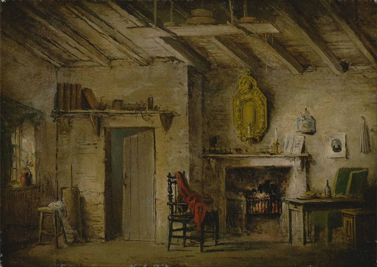 La Chambre à Coucher Van Gogh Wikipedia Alexander Nasmyth Stage Design For Heart Of Midlothian Deans