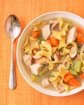 Crock Pot Chicken Noodle Soup and more of the best clean eating crock pot recipes on MyNaturalFamily.com #cleaneating #recipe