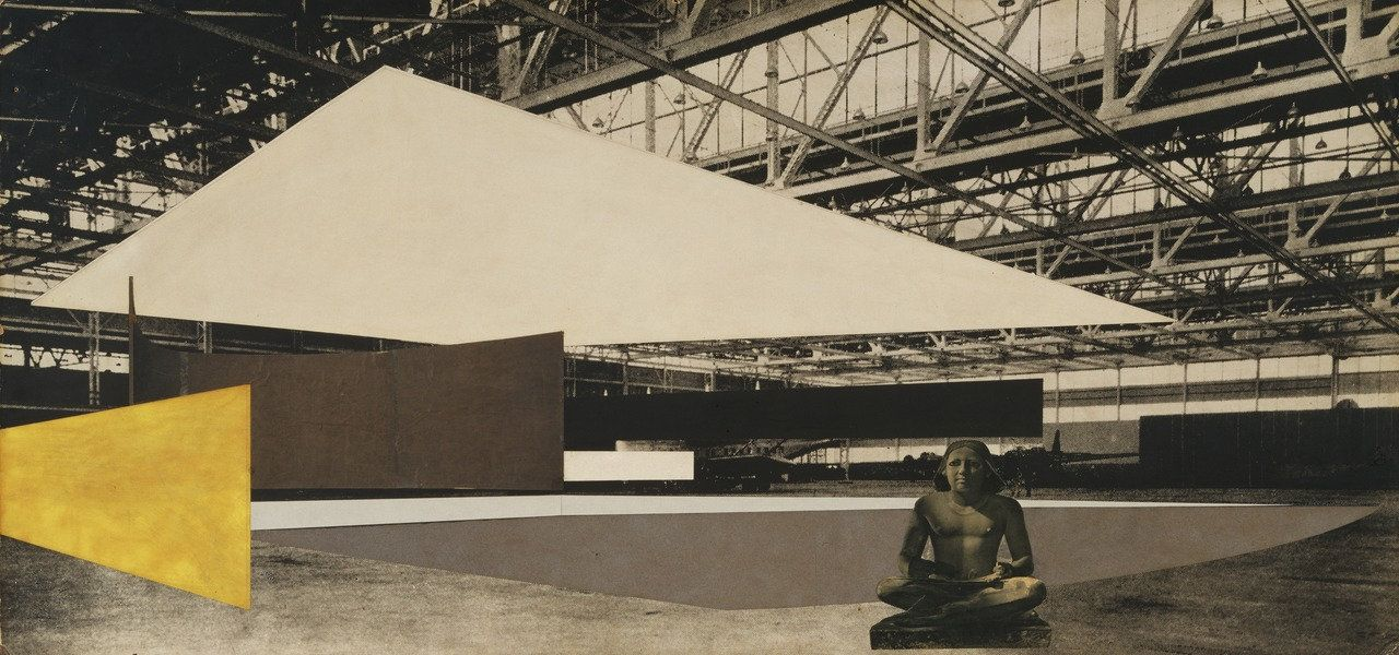 Ludwig Mies van der Rohe. Concert Hall Project, Interior perspective. 1942