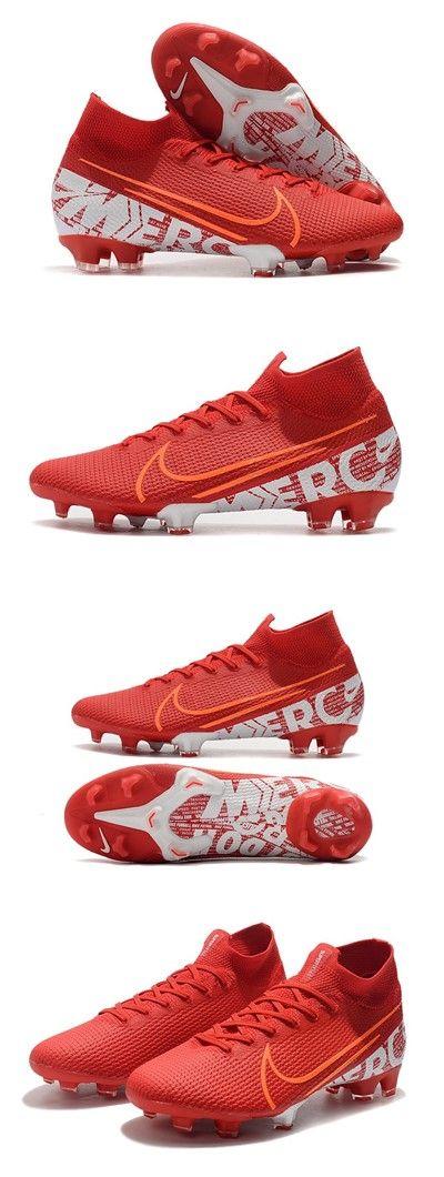 nacido vitalidad Formación  Zapatillas Nike Mercurial Superfly 7 Elite FG Rojo Blanco | Soccer cleats  nike, Superfly, Nike