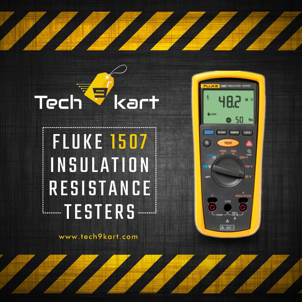 When Installing New Electrical Machinery Or Equipment Insulation Resistance Tester Is Very Important The Fluke 1507 Insulatio With Images Insulation Tester Installation
