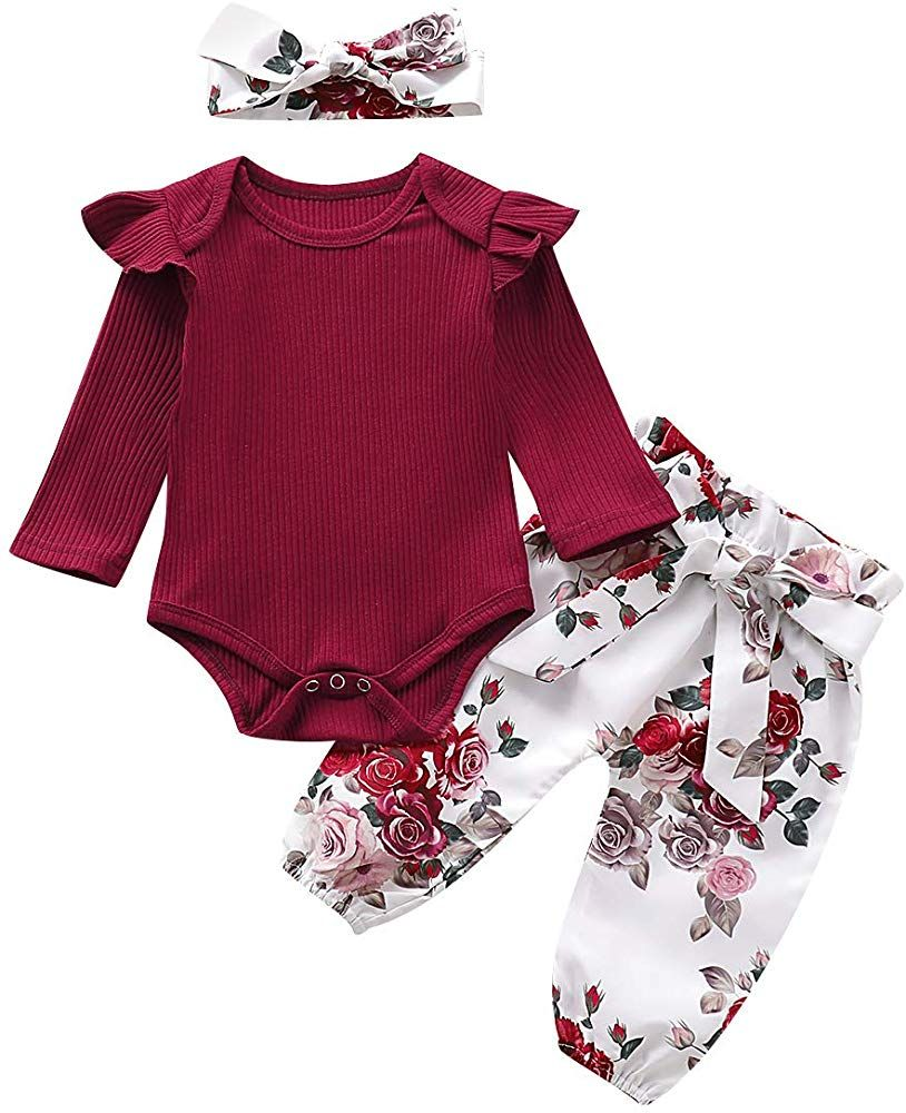 Infant Baby Girl 2 Pieces Summer Outfit,Cute Striped Sleeveless Bow-Knot Shirt Top with Shorts Pants Set Clothes