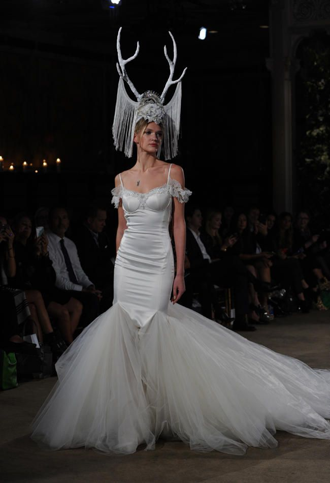 See Galia Lahav\'s Medieval Princess-Inspired Wedding Dresses for ...