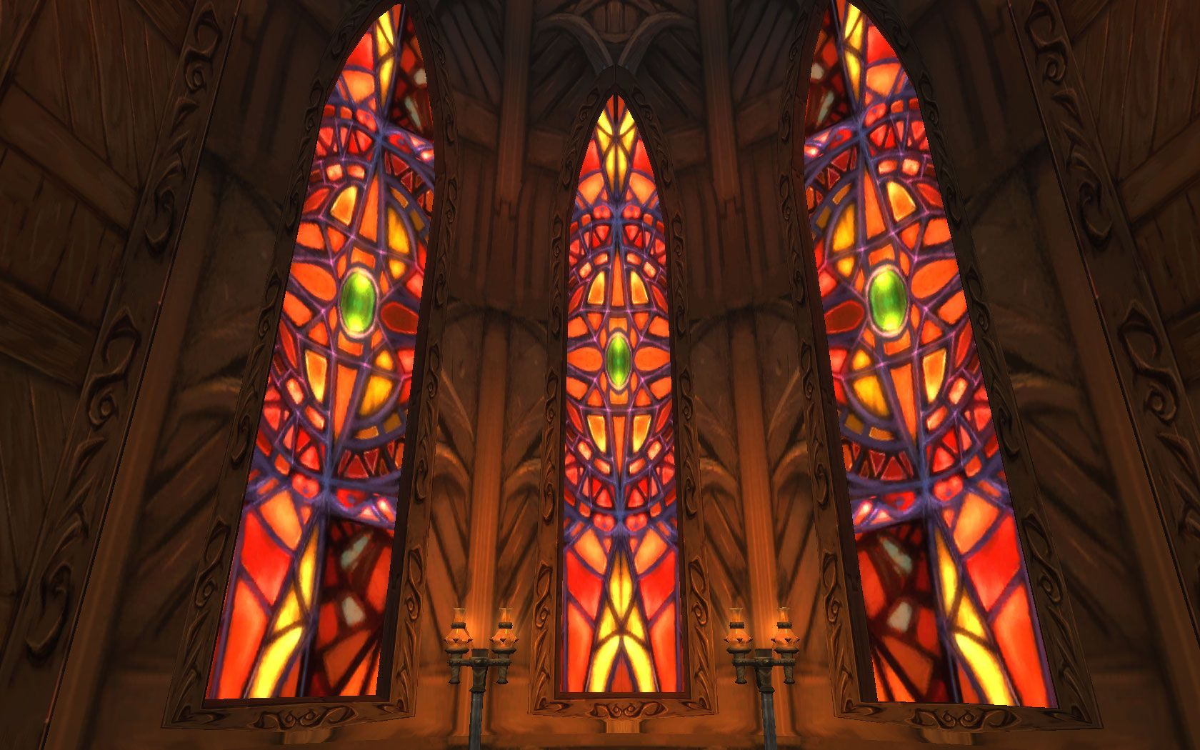 Gilneas Light S Dawn Cathedral Stained Glass Stained Glass