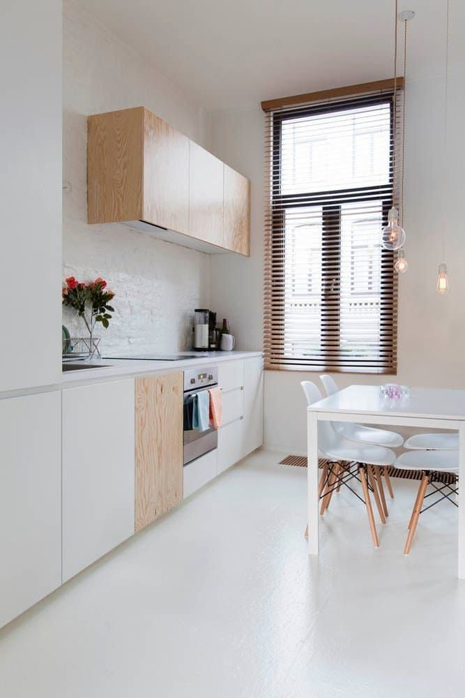 Mismatched Kitchen Cabinets
