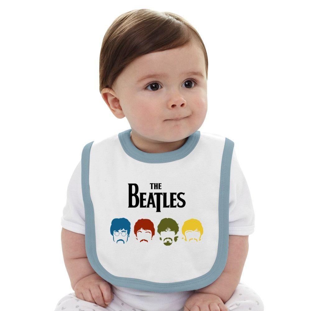 The Beatles Inspired Baby Bib