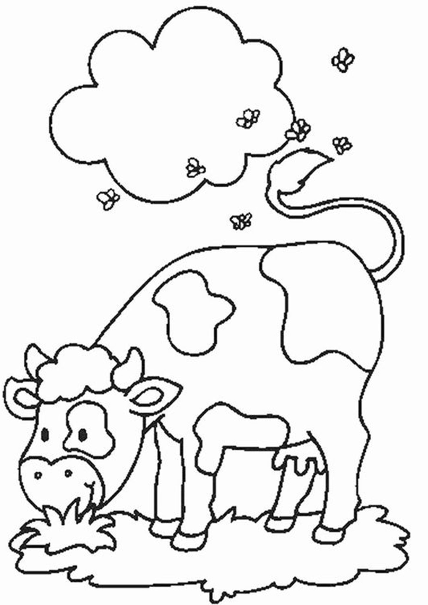 Turma Da Monica Girl And Cow Coloring Page Cow Coloring Pages Coloring Pages Printable Coloring Book