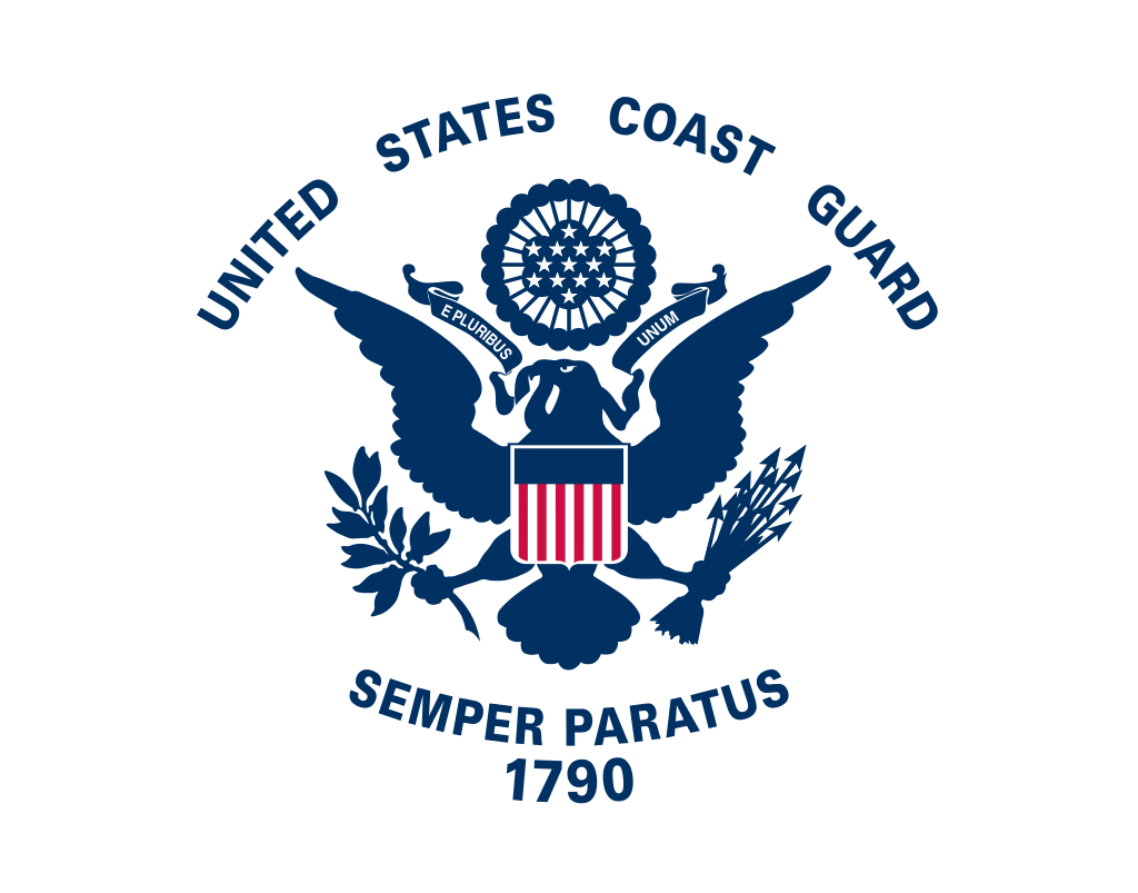 Flag Of The United States Coast Guard Coast Guard Coast Guard Flag Us Coast Guard