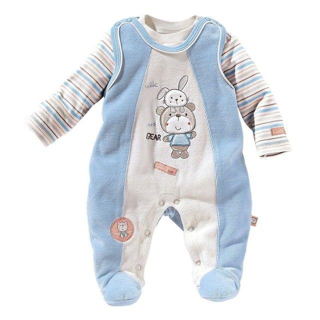 BORNINO Grenouillère avec T-shirt bébé ensemble bébé BORNINO Bel ensemble  de qualité haut de d9c6b34e2f4