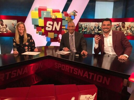Alyssa Roenigk J A Adende And Joe Fauria Of Espn Sportsnation