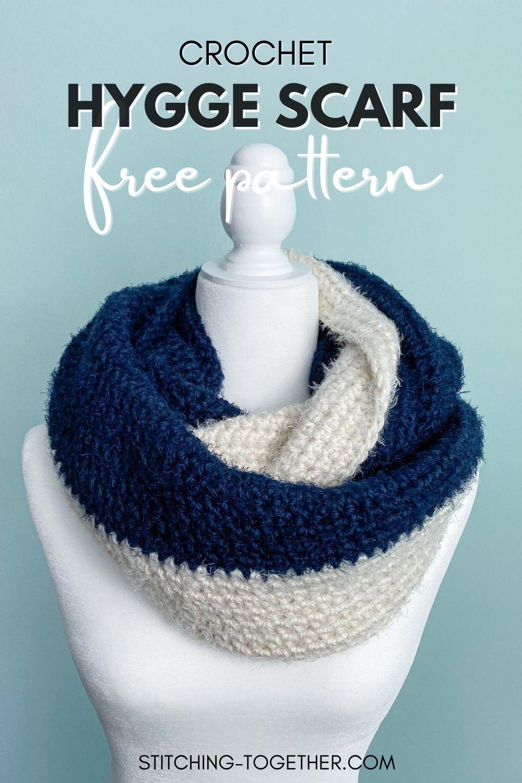 Lady Of Luxury Crochet Infinity Scarf In 2021 Crochet Infinity Scarf Pattern Scarf Crochet Pattern Chunky Crochet Scarf