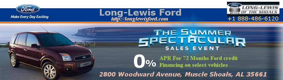 Long Lewis Ford Is Ford Dealer In Alabama Usa We Provides The