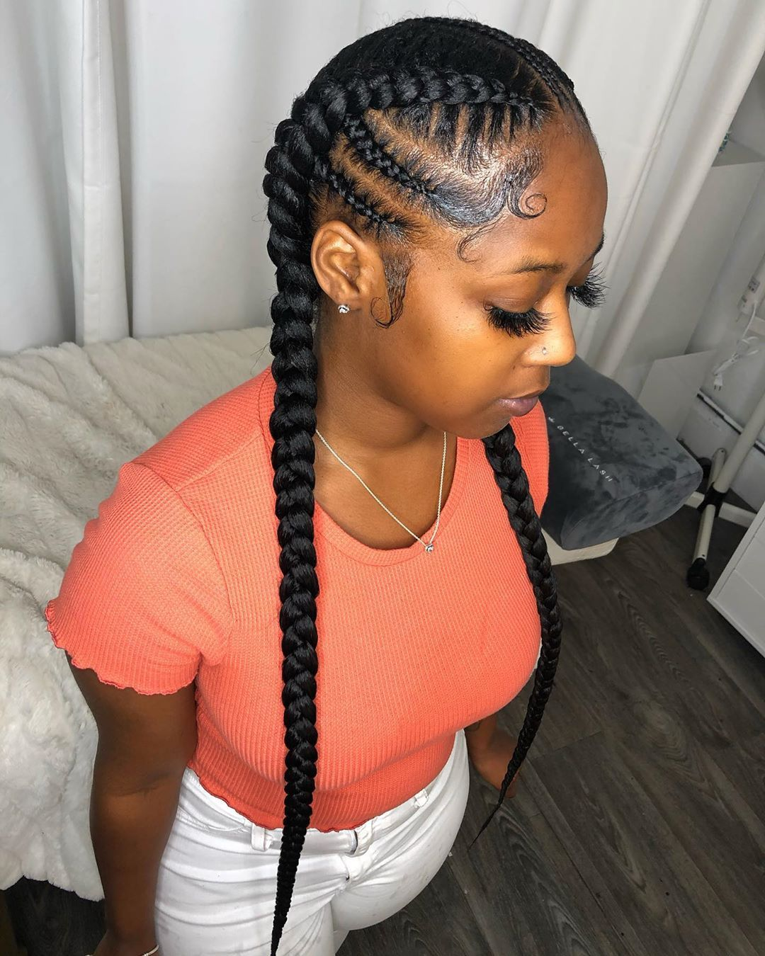 Pin By Patrice B On My Hair Skin Braids For Black Hair Natural Hair Styles Hair Styles