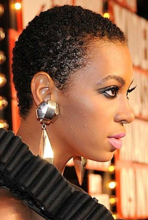 20 Very Short Hairstyle For Black Women Natural Hair Styles