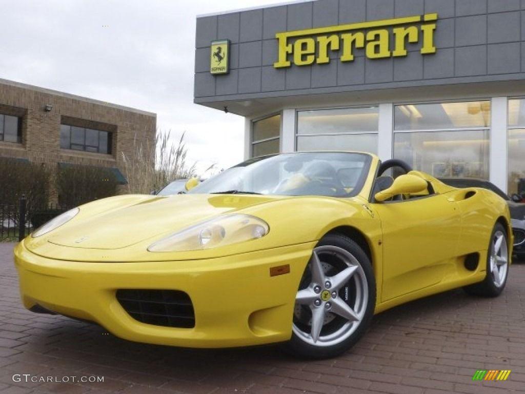 2002 Giallo Modena Yellow Ferrari 360 Spider 73113126