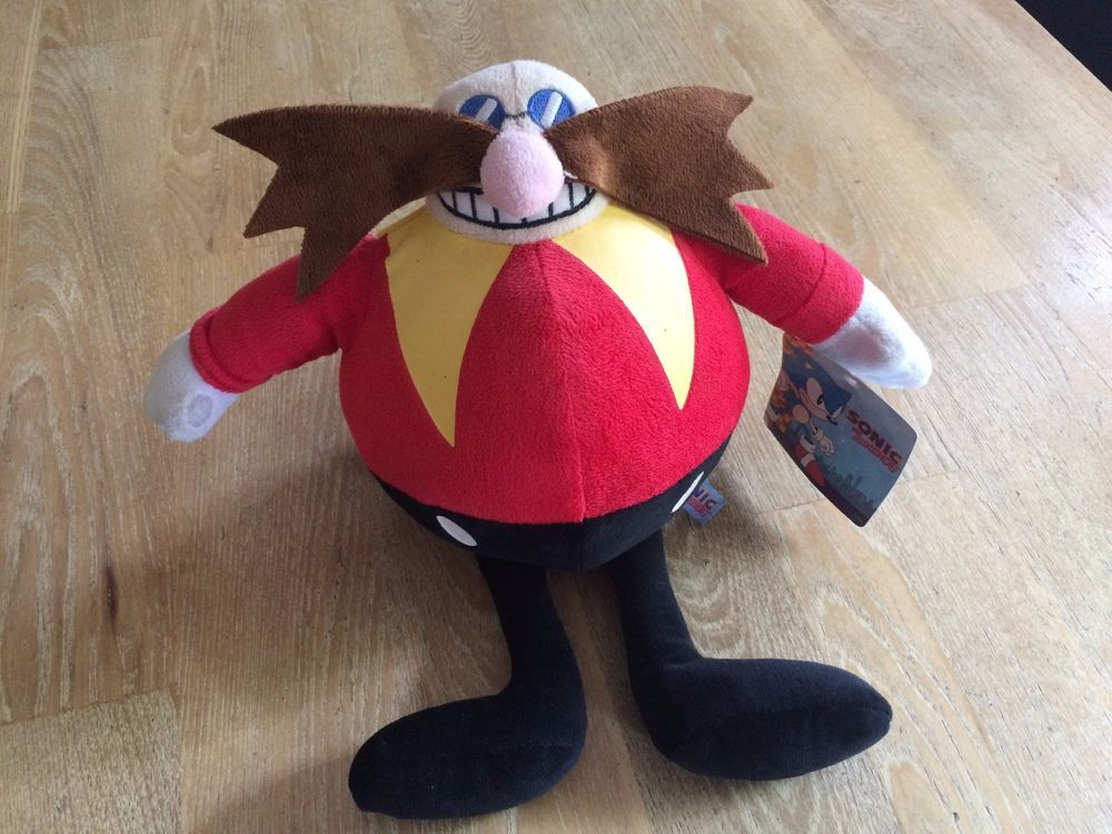 Haba The Doctor Hedgehog Beanie Felpa Eggman Suave Sonic Juguete OPTkZuXi