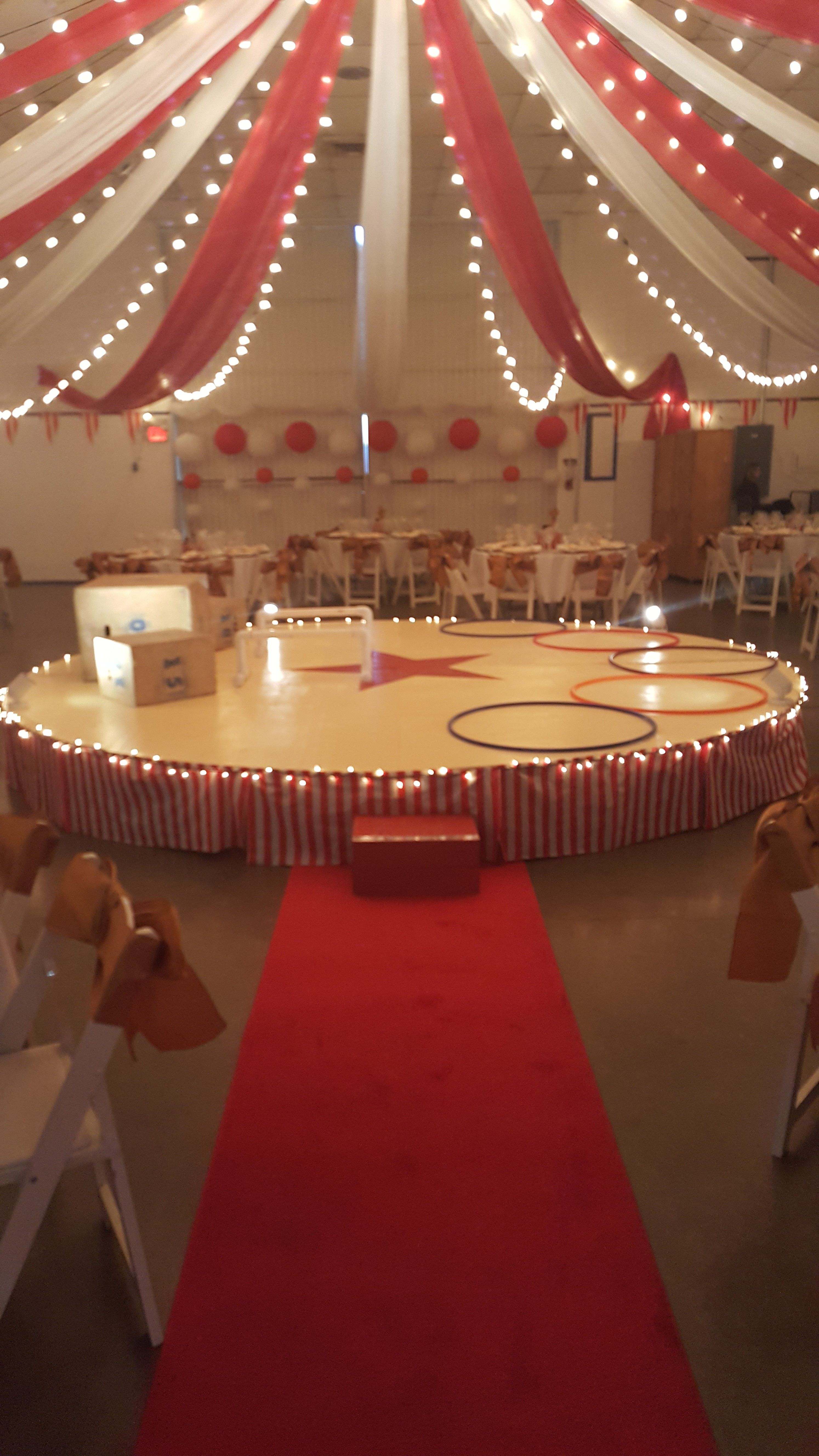 Circus tent party space | SWEET 16 IDEAS in 2019 | Circus ...
