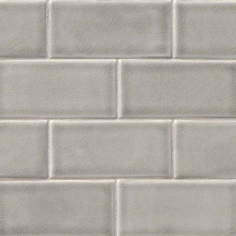 Dove Gray Ceramic Subway Tile Is Hand Crafted And Combines A Soothing Shade Of With Sophisticated Led Glazed Finish