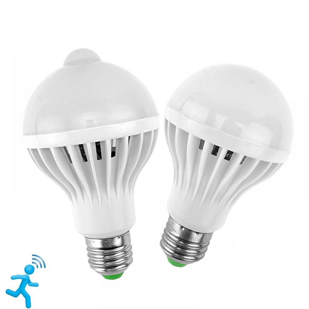 Led Pir Motion Sensor Led Bulb 220v 5w 7w 9w 12w Egadgetsmart Motion Sensor Lights Light Sensor Led Bulb