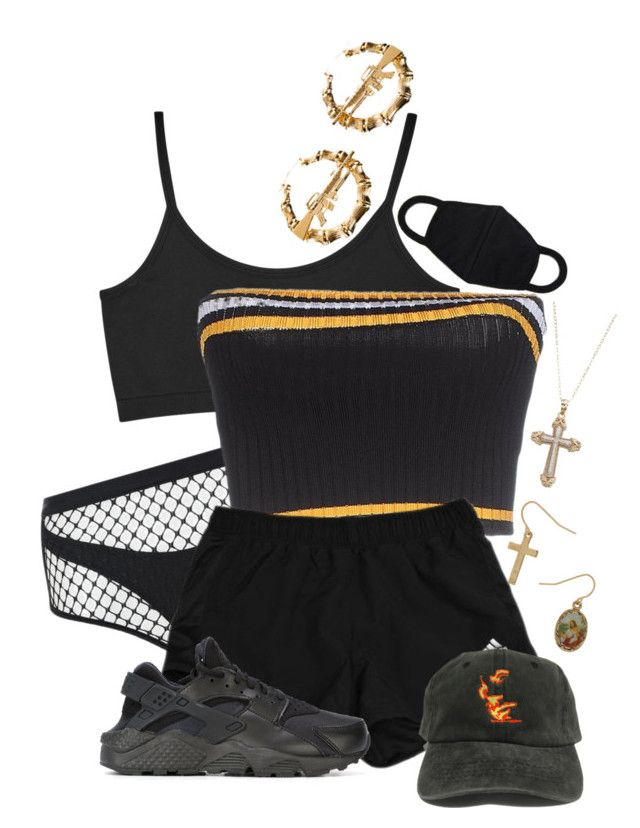 GUCCI LOUIS POLO PRADA by palemoonlight-x on Polyvore featuring moda, Prada, Helmut Lang, Agent Provocateur, NIKE and Melody Ehsani