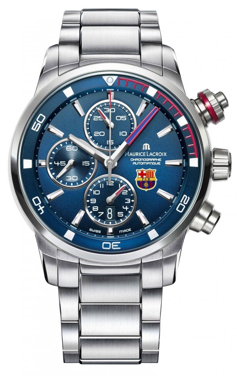 281a0350 Maurice Lacroix FC Barcelona Pontos S PT6008-SS002-431 #men'sjewelry ...