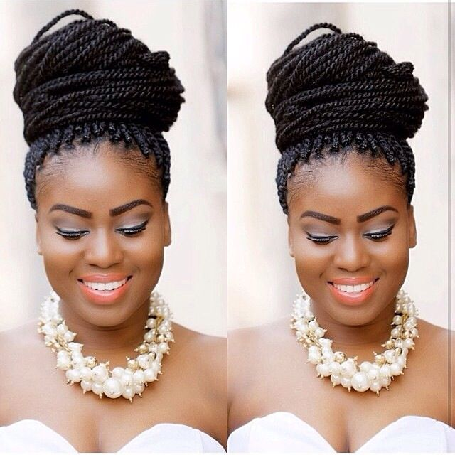 African American Wedding Hairstyles Braids: Buscar Con Google (With Images