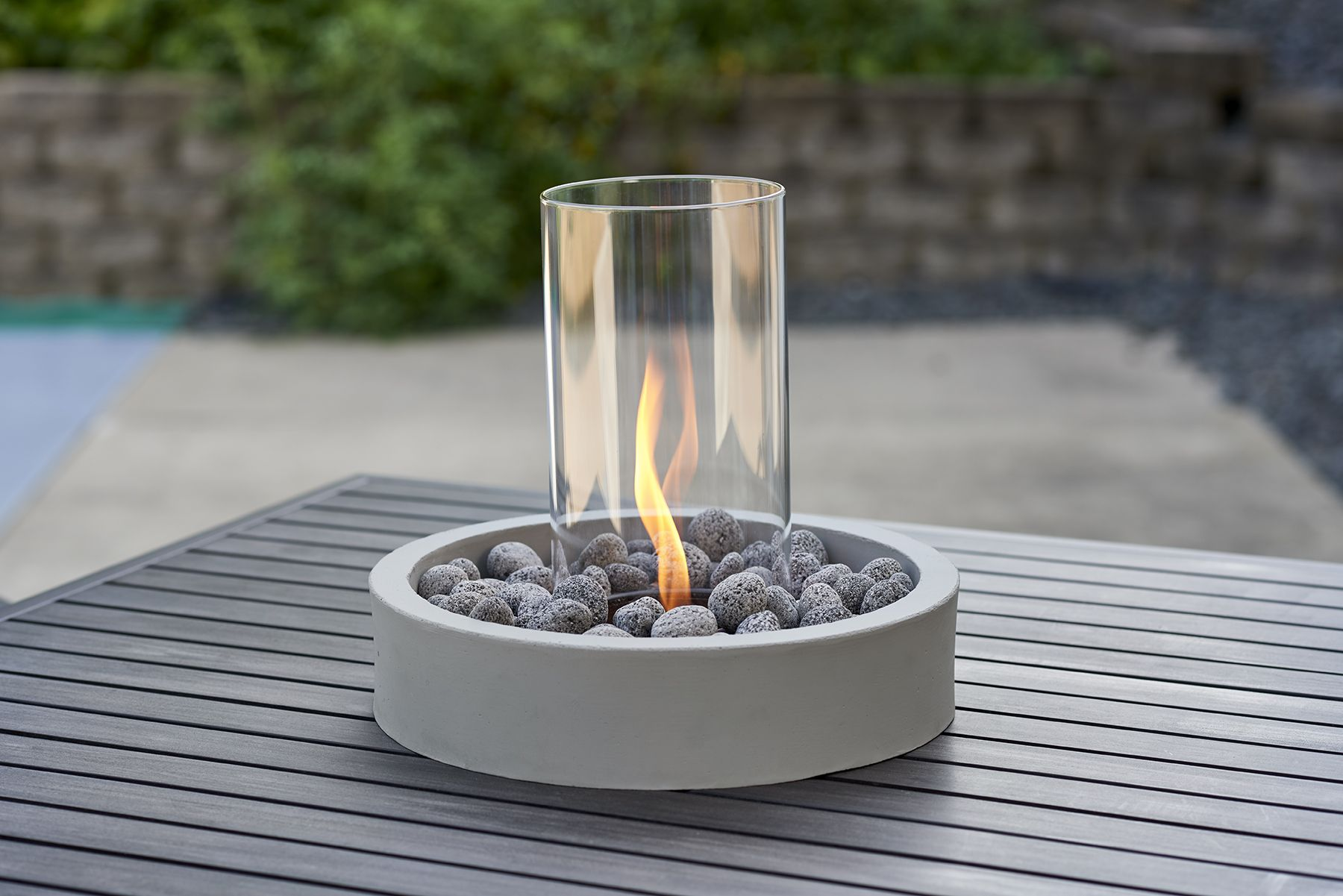 A Table Top Gas Fire Pit An Absolutely Gorgeous Table Centerpiece