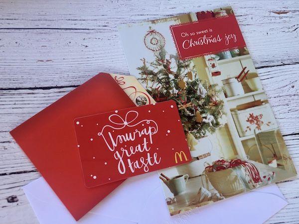 Christmas Blessing Bags Mcdonalds Christmas Christmas